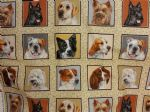DOGS PETS - Fabric 100% Cotton - Price Per Metre